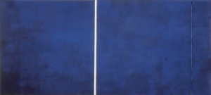 Barnett Newman, Cathedra, 1951. Collection of the Stedelijk Museum, Amsterdam
