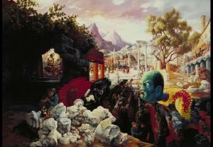Peter Blume The Eternal City 1934-37, Museum of Modern Art