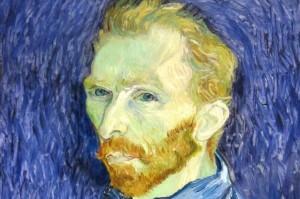 Vincent van Gogh, Self-Portrait (detail), National Gallery of Art, Washington, D.C.