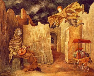 Remedios Varo Magic Flight or Zamfonia, (date and collection TBD)
