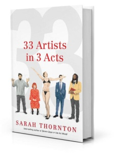 The book jacket. Can you identify all 5 artists? Answer at the bottom of this post.