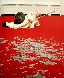 "Maurizio Cattelan, ""The Ninth Hour"" 1999"