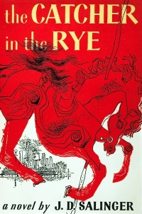 Front cover to The Catcher in the Rye, first published by Little, Brown in 1951