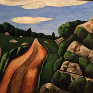 Summer Outward Bound, Gloucester by Marsden Hartley, 1931 Gift of the estate of Robert L. French, 2009 Cape Ann Museum