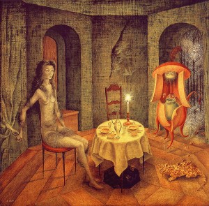 Unexpected view by Remedios Varo