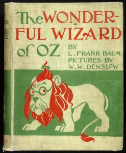Front cover to The Wonderful Wizard of Oz, published by the George M. Hill Co., 1900