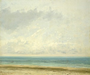 Gustave Courbet, 'Calm Sea,' 1866, National Gallery of Art, Washington
