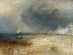 Joseph Mallord William Turner, Waves Breaking on a Shore circa 1835, Tate Gallery, London