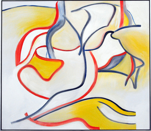 Willem de Kooning - Stowaway, 1986 at Pinakothek der Moderne Munich Germany