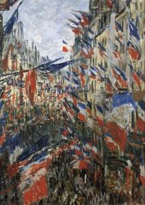 Rue Saint-Denis in Paris, Celebration of 30 June 1878 Musée des Beaux-Arts, Rouen